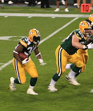 Vernand Morency - Morency with the Packers in 2007