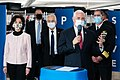 Vice President Pence at GM Ventec Ventilator Production Facility (49841675733).jpg