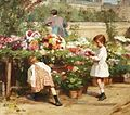 Victor Gabriel Gilbert - The Young Flower Seller.jpg