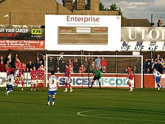 Victoria Road, Dagenham - Image: Victoria Road Goal