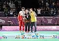 Victory Ceremony Girls Singles Badminton 2018 YOG (50).jpeg
