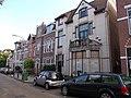 Vier woningen en een sociëteitsgebouw met bovenwoning in Winschoten 1906 - 1.jpg