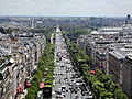 View from Arc de Triomphe 43 2012-07-02.jpg