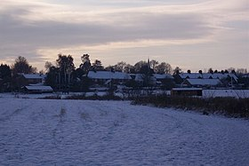 View of Bapchild in the snow - geograph.org.uk - 1628297.jpg