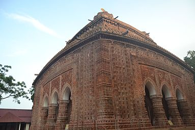 View of Kantanagar Temple from North east (2).jpg