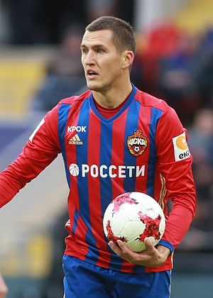 Viktor Vasin - With CSKA in 2017