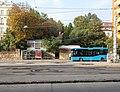 Villányi út bus terminus and Karsan ATAK bus, 2018 Szentimreváros.jpg