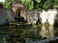 Villa reale di marlia, giardino spagnolo, vasca.JPG