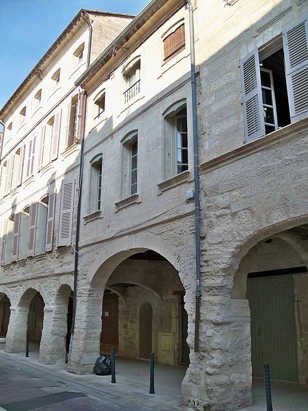 Monument historique à Villeneuve-lès-Avignon