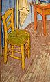 Vincent Van Gogh, La stanza di van gogh ad arles, 1889, 02 sedia.JPG