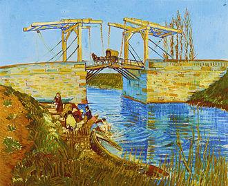 Langlois Bridge at Arles - Image: Vincent Willem van Gogh Pont de Langlois Kröller Müller