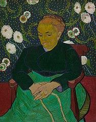 Madame Roulin Rocking the Cradle (La Berceuse)