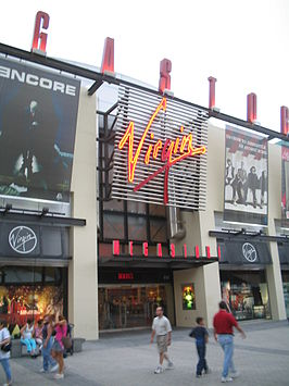 Virgin Megastore in Downtown Disney(Walt Disney World Resort)
