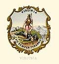 Virginia stemma dello stato