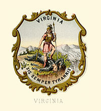 Virginia state coat of arms