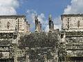 Vista del Chac Mool del Templo de los Guerreros.jpg