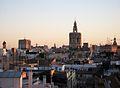 Vista del centre de València des de les torres de Serrans.JPG