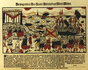 Piracy - The Vitalienbrüder. Piracy became endemic in the Baltic sea in the Middle Ages.