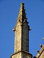 Vitré (35) Église Notre-Dame Façade sud 6ème pinacle.JPG