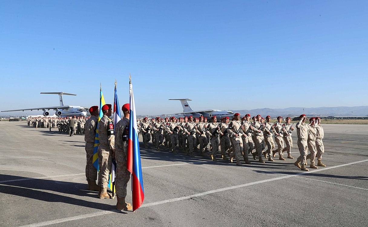 Vladimir Putin in Khmeimim Air Base in Syria (2017-12-11) 21.jpg