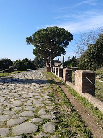 Ostia Antica - The old entrance of the city
