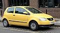 Volkswagen Fox 5Z 1390cc registered GB September 2009.jpg