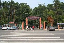 Vostryakovo Cemetery 01 - Entrance.jpg