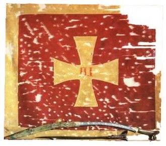 Cross pattée - Image: Vucji Do flag