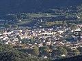 Vue Nord-Est de Céret, depuis le mas Riuros, par une belle fin d'après-midi d'automne en 2010.jpg