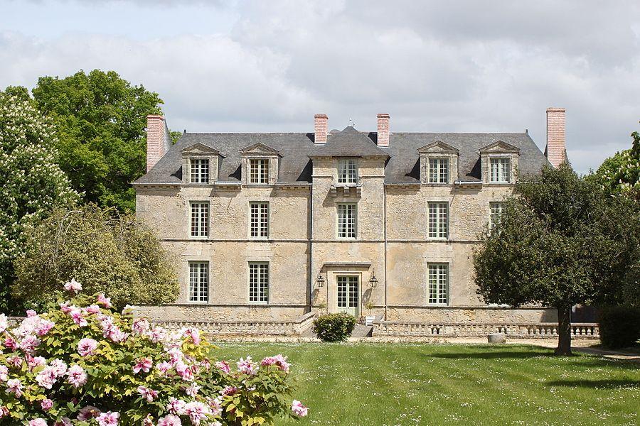 Château des Noyers, Grouas, Fr-49-Martigné-Briand.