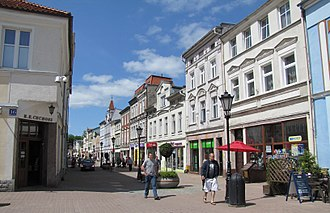 Wejherowo - Historical architecture of the Old Town