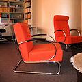 WLANL - Quistnix! - NAI Huis Sonneveld - Fauteuil Gispen 407 oranje.jpg