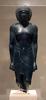 WLA brooklynmuseum Statue of a Priest of Amun 381-362 BCE.jpg