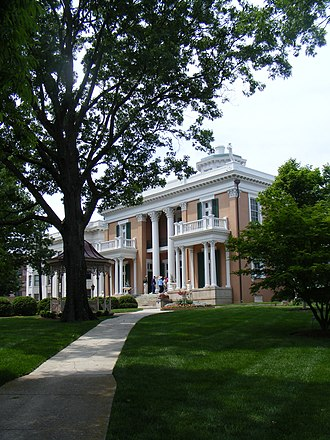 Belmont University - The Belmont Mansion