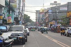 The Elias Angeles Street in Naga City