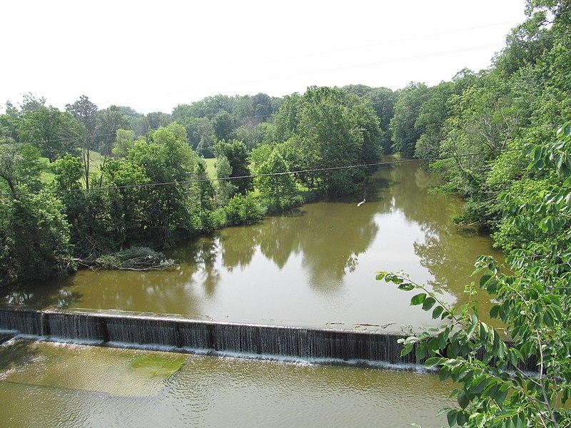 File:Wakeman river dam.jpg