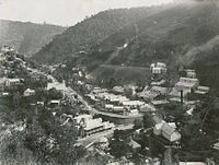 Walhalla township in 1910.
