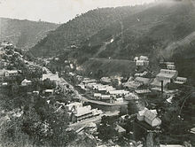 Walhalla township in 1910