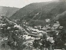 Walhalla township in 1910