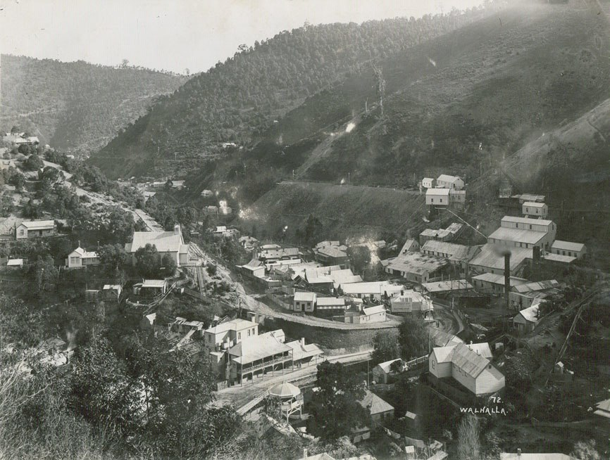 Walhalla 1910 view4