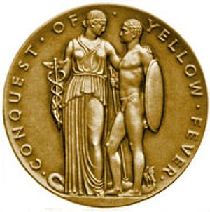 Walter Reed Medal - Congressional Gold Medal awarded to Walter Reed in 1929