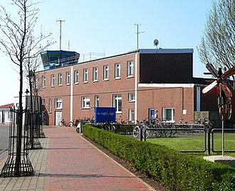 Wangerooge Airfield - Image: Wangerooge Flughafen