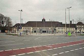 Wanne-Eickel–Hamburg railway - Wanne-Eickel Hbf