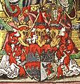 Wappentafel Stift Würzburg und Franken detail Bischof Wappen.jpg