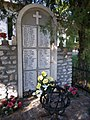 War memorial (1987), Bélapátfalva Cemetery, 2016 Hungary.jpg