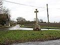 War memorial at crossroads in Blo' Norton - geograph.org.uk - 1708373.jpg