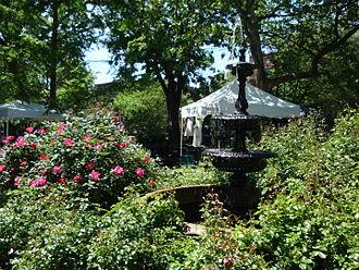 Van Vorst Park - Water fountain in Van Vorst Park