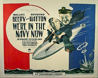 We're in the Navy Now - Lobby card