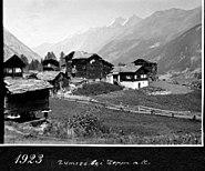 Weiler Zum See bei Zermatt in 1923