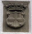 Weinstetter Hof in Eschbach, Wappen der Universität Freiburg.jpg